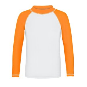 UV werend zwemshirt lange mouwen Neon/oranje - Snapper Rock