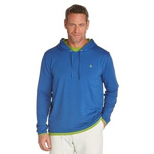 UV hoodie trui heren blauw - Coolibar