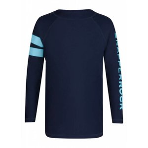 UV werend shirt lange mouwen donkerblauw - Snapper Rock