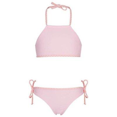 UV werende bikini met haltertop voor meisjes Roze Ballet - Snapper Rock