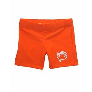 UV werend zwemshort kleine kinderen oranje - IQ-UV