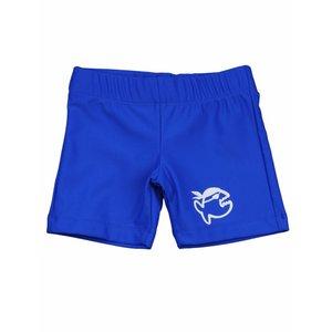 UV werend zwemshort kleine kinderen blauw - IQ-UV