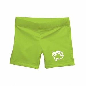 UV werend zwemshort kleine kinderen groen - IQ-UV