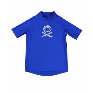 UV werend shirt korte mouw kleine kinderen blauw - IQ-UV