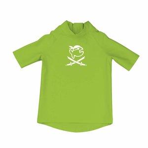 UV werend shirt korte mouw kleine kinderen groen - IQ-UV