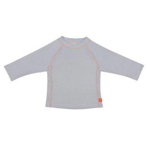 UV Baby zwemshirt polkadots grijs lange mouwen - Lässig