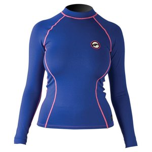 Rashguard Dames Lange Mouwen Pure Girl Bright Blue - Prolimit
