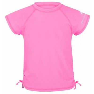 UV werend shirt meisje neon roze - Snapper Rock