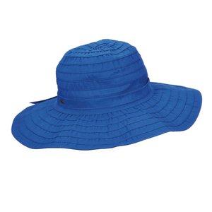 UV Strandhoed dames Kobalt blauw - Scala