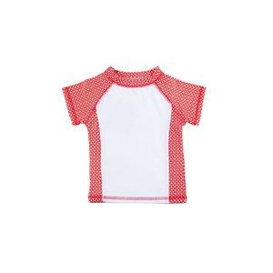 UV-Shirt 'Funky Red' korte mouw - Ducksday