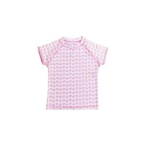 UV-Shirt 'Pink Print' korte mouw - Ducksday