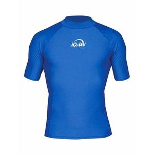 Zonwerend zwemshirt heren blauw IQ-UV