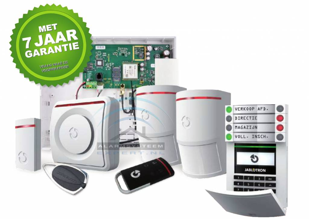 100 Kits sistema de alarma Jablotron