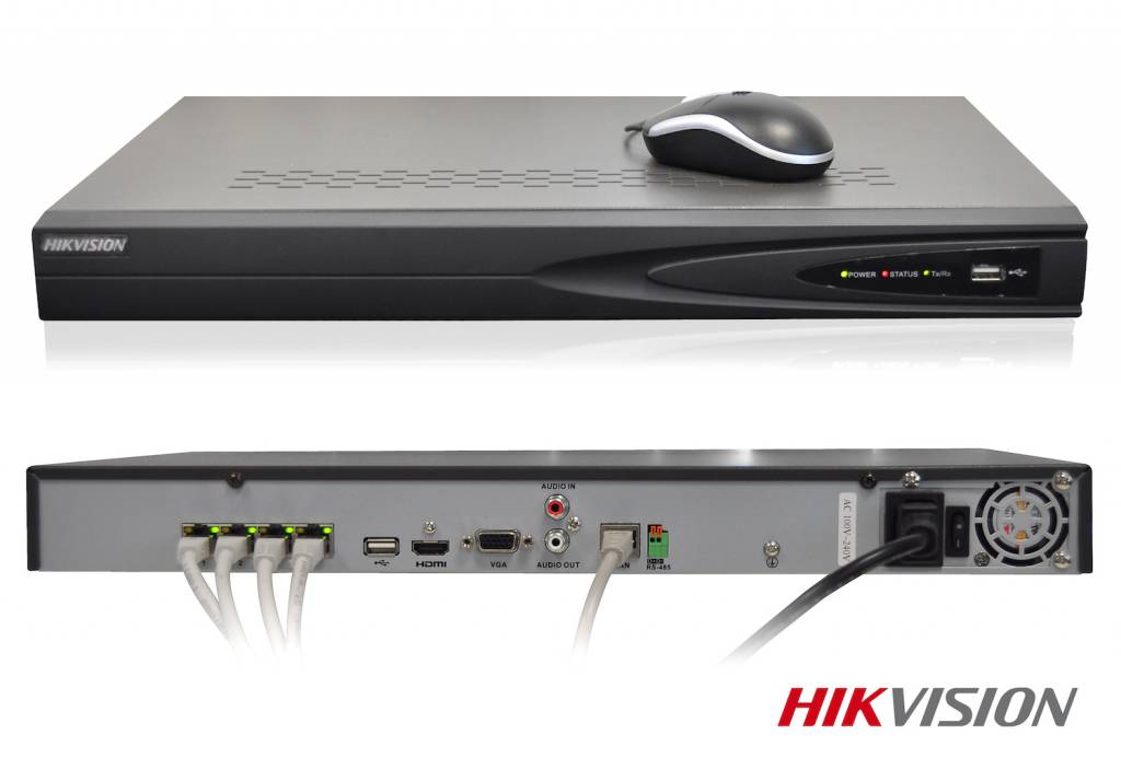 HD recorder with PoE