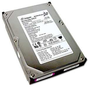 Hard disks and SD cards