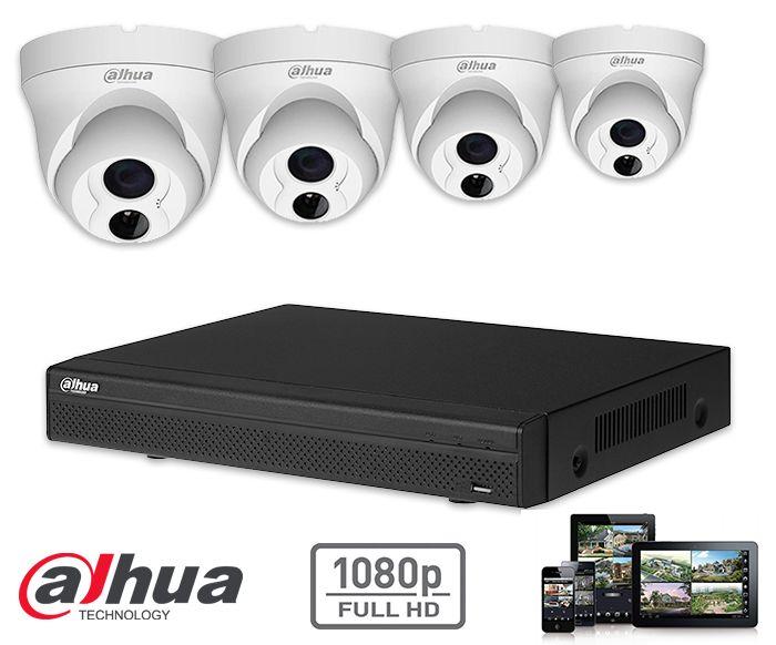 Kit de vigilancia con cámaras IP HD