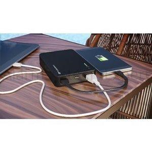 GP Portable Power Bank 12000 mAh USB Zwart