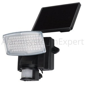Ranex Solar Wandlamp 80 LED Zwart