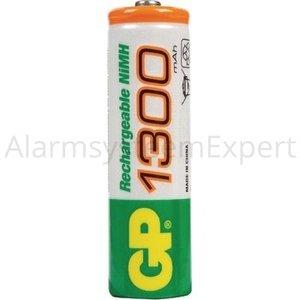 GP Oplaadbare NiMH Batterij AA 1.2 V 1300 mAh 4-Blister