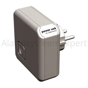 Allocacoc Lader 1 - Uitgang USB Wit