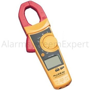 Fluke Current clamp meter, 600 AAC, 0.2 mADC, TRMS