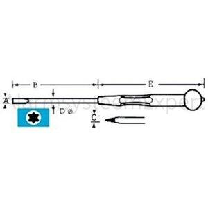 Gebra Schroevendraaier Torque TX05
