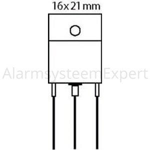 Fixapart Transistor P-DARL+D 100 VDC 10 A 125W 1K