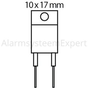Philips Transistor SI-N+D 1500 VDC 8 A 35W 0.6us