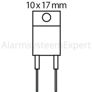 Toshiba Transistor SI-P 230 VDC 1 A 20W 70MHz