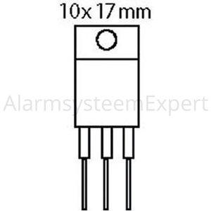 Motorola Transistor THYR. 800 VDC 25 A 40mA 2/15us