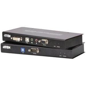 Aten KVM Extender, DVI DL, USB, audio, RS232 60 m