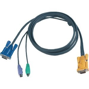 Aten KVM special combination cable, VGA/PS/2 6 m