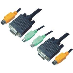 Aten KVM combination cable, VGA/PS/2