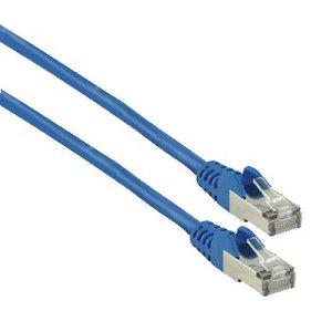 Valueline CAT6 F/UTP Netwerkkabel RJ45 (8/8) Male - RJ45 (8/8) Male 0.25 m Blauw