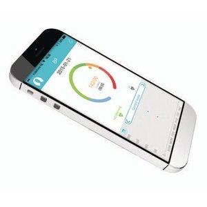 König Bloeddrukmeter Pols Bluetooth 4.0 Wit
