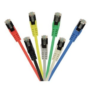 Valueline CAT5e F/UTP Netwerkkabel RJ45 (8/8) Male - RJ45 (8/8) Male 3.00 m Rood