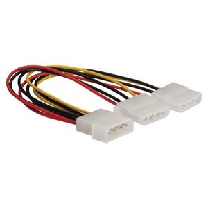 König Interne Stroomkabel Molex Male - 2x Molex Female 0.15 m