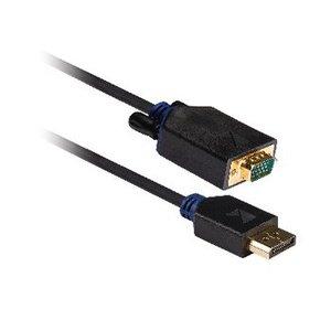 König DisplayPort Kabel DisplayPort Male - VGA Male 2.00 m Antraciet