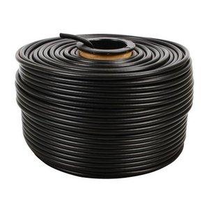 König CAT5e Netwerkkabel op Haspel F/UTP 100 m Zwart Solid