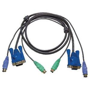 Aten KVM kabel VGA + PS/2 1,80 m