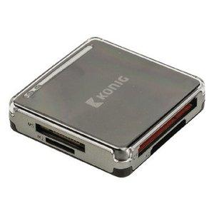König Kaartlezer Alles-in-1 USB 3.0 Zwart