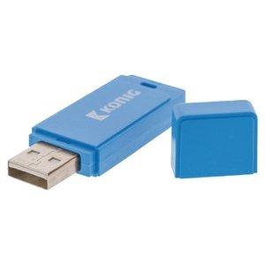 König USB Stick USB 2.0 8 GB Blauw
