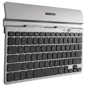 Sweex Bluetooth Keyboard Draagbaar US International Zilver / Zwart