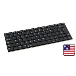 König Bluetooth Keyboard Draagbaar US International Aluminium