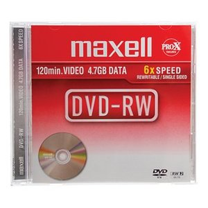 Maxell DVD 4.7 GB 5 St
