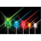Kingbright LED 5 mm 18000 mcd Groen