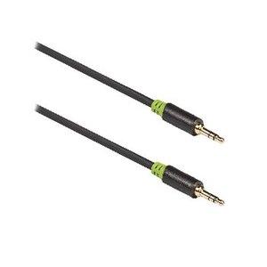 König Stereo Audiokabel 3.5 mm Male - 3.5 mm Male 3.00 m Antraciet