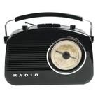 König Draagbare FM-Radio FM / AM Zwart
