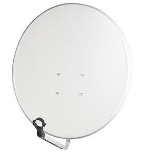 König Satelliet Schotel 110 cm 42.8 dB Grijs