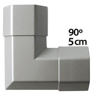 König Kabelgoot 50 x 50 mm Zilver